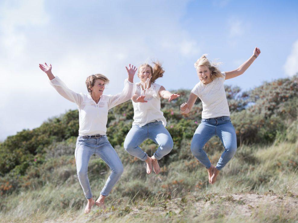 Egmond aan zee Familie weekend fotoshoot