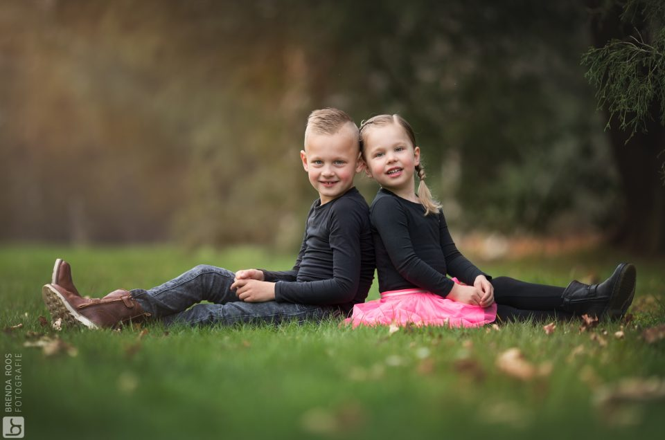 Thijs & Evi in het park