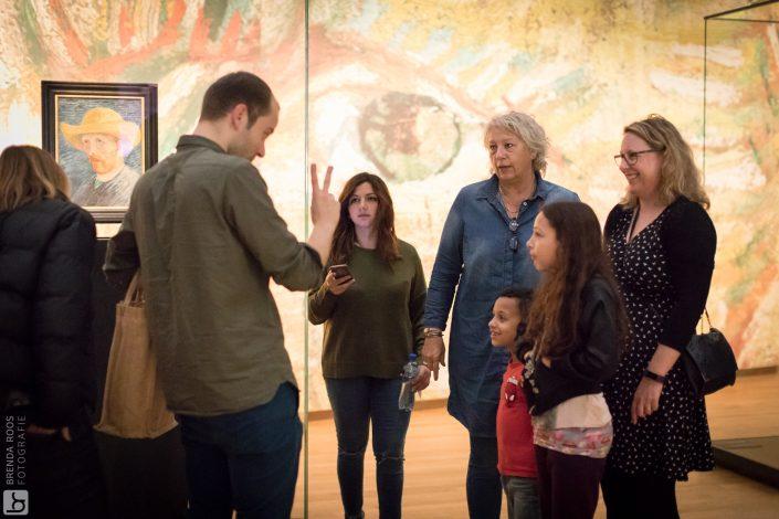 Fotoreportage Van Gogh Museum gebarentaal
