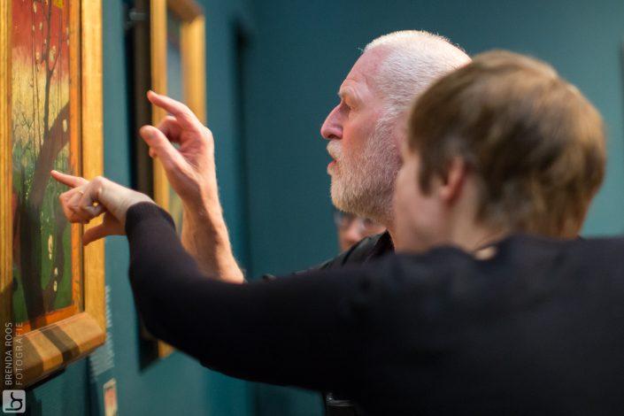 Fotoreportage rondleiding voor blinden en slechtzienden Van Gogh Museum