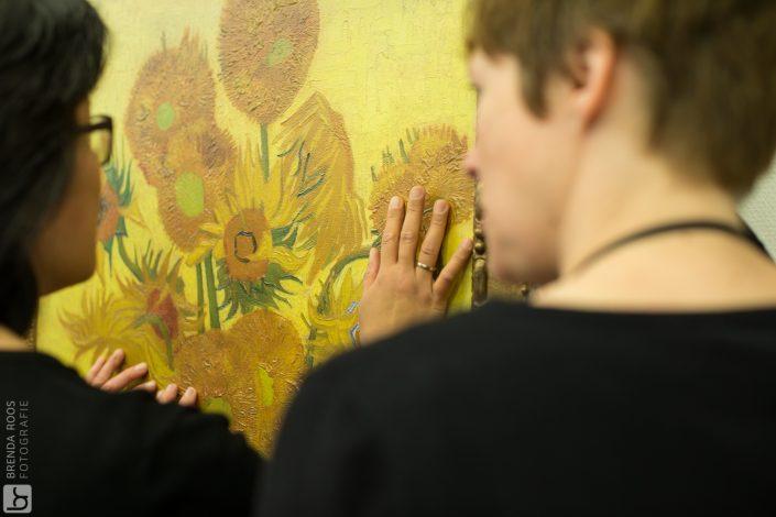 Fotoreportage Van Gogh Museum zonnebloemen