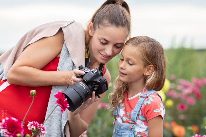 fotograaf lelystad bloemen fotoshoot pluktuin goudenuur
