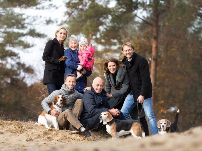 Najaar fotoshoot met de familie