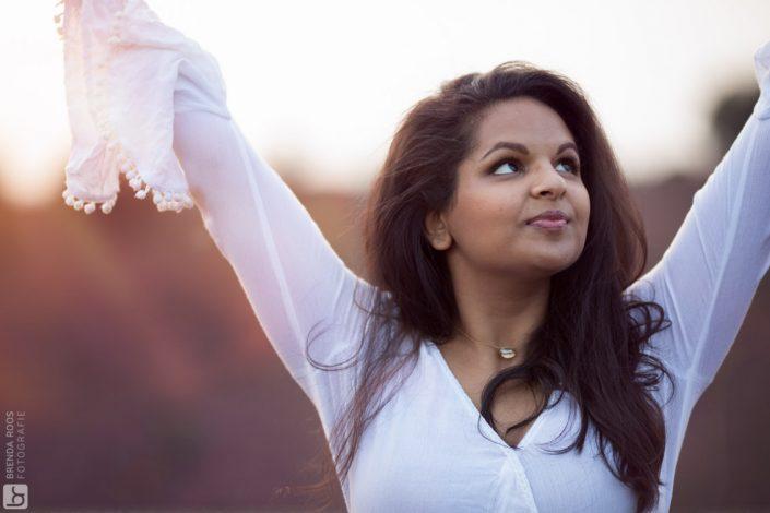 Yoga fotoshoot Posbank Veluwezoom Gouden-Uur
