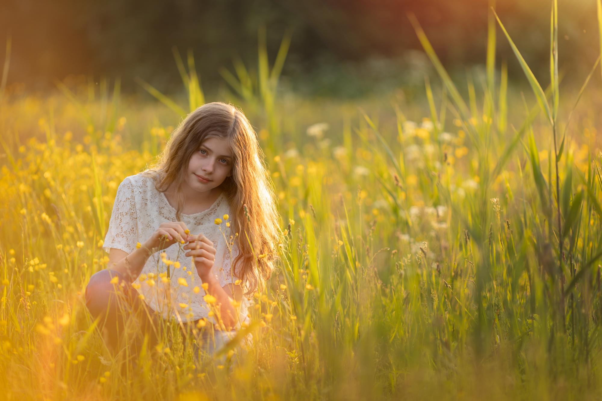 Fotograaf Lelystad Portret kind Belevenissenbos