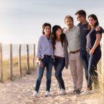 Fotograaf Familie fotoshoot strand duinen Noordzee Egmond aan Zee
