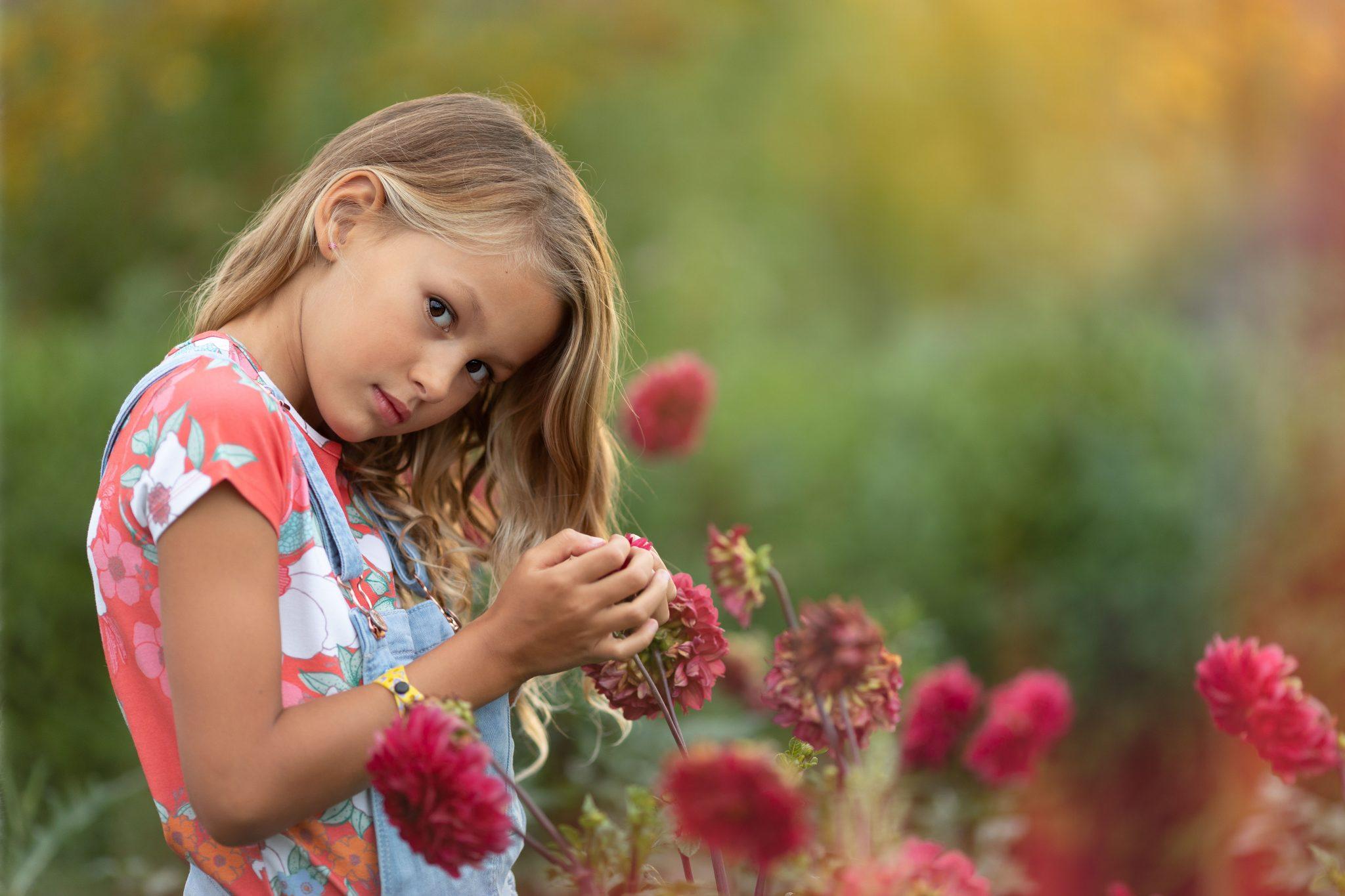Fotograaf Lelystad portret bloemen