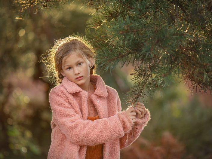 Portretfotograaf Veluwe Workshop paarse heide