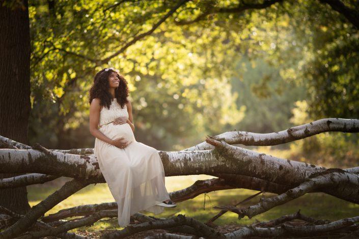 zwanger bos Flevoland fotograaf