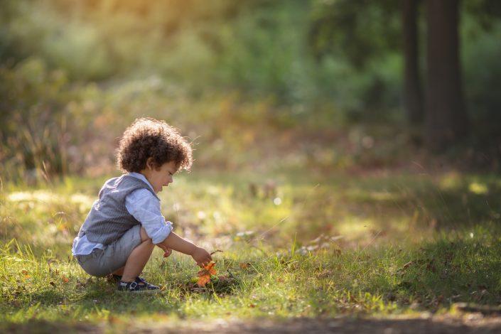 Fotograaf Blaricum heide jongen herfst