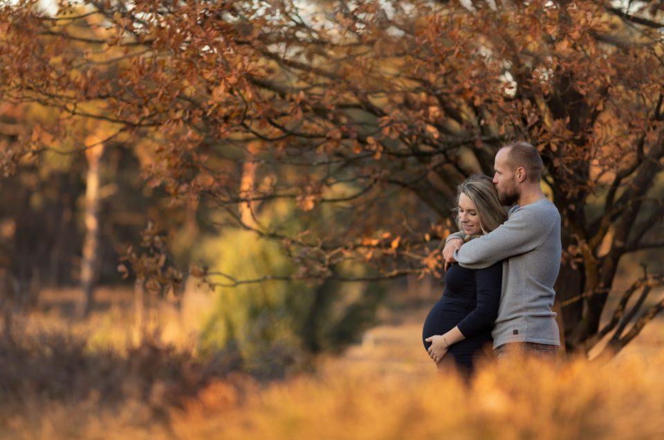 Zwangerschaps-fotoshoot