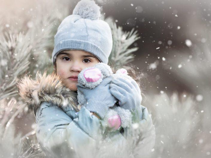 fotograaf kinderen kinderfotograaf fotoshoot winter Veluwe Lelystad tweeling