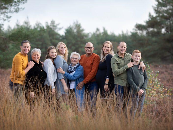 Familie fotoshoot Bos & Heide