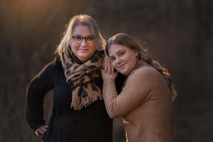 moeder en dochter fotoshoot fotograaf Lelystad en veluwe