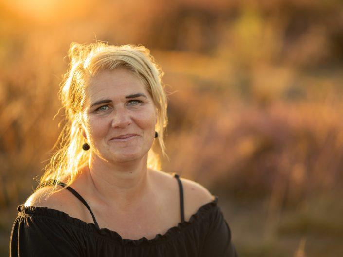 veluwe familie gezin fotoshoot gouden uur heide fotograaf Flevoland