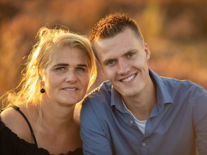 veluwe familie gezin fotoshoot gouden uur heide fotograaf Amsterdam