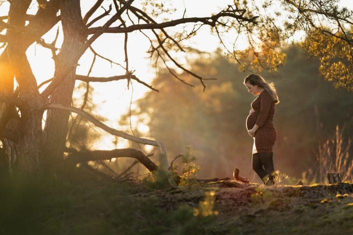 zwanger zwangerschaps fotoshoot Doornspijk