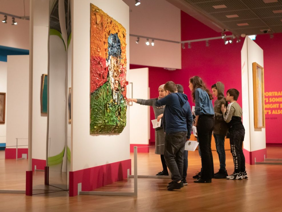 Van Gogh Museum picture Maarten Bel tentoonstelling fotoreportage