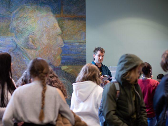 Van Gogh Museum school opening tentoonstelling fotoreportage