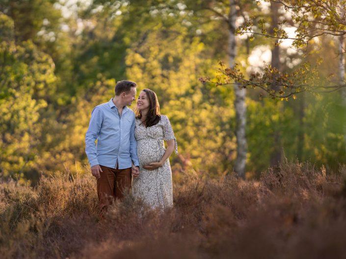 Zwangerschap - Lente op de heide