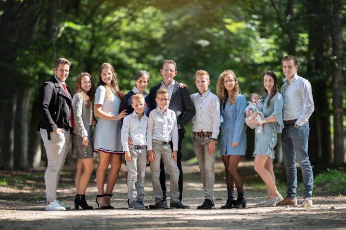 familie fotoshoot planken wambuis ede