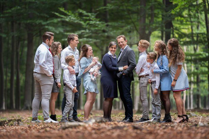 familie fotoshoot Veluwe