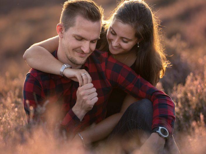 huwelijksaanzoek posbank loveshoot gouden uurtje