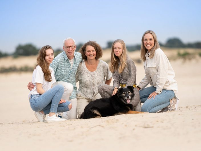 Familie fotoshoot Aekingerzand