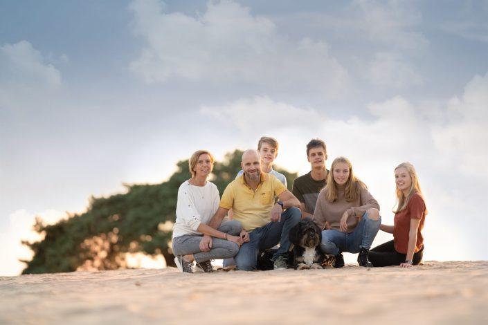 fotograaf Elburg Doornspijk zandverstuiving Veluwe familie fotoshoot
