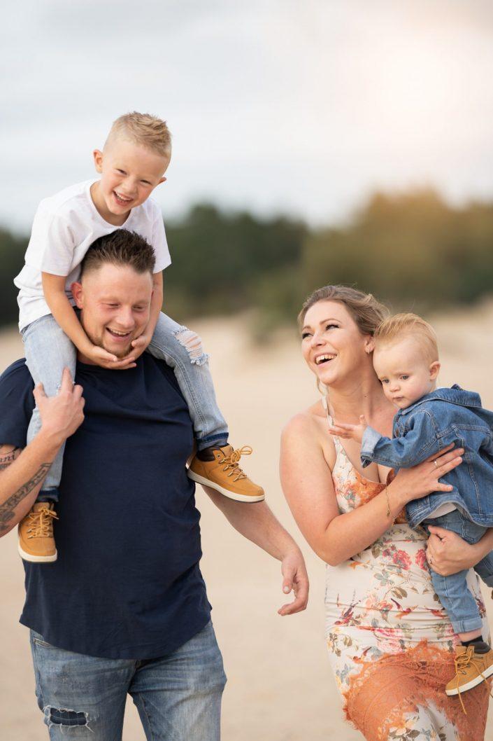 familie fotograaf heide zandverstuiving Veluwe