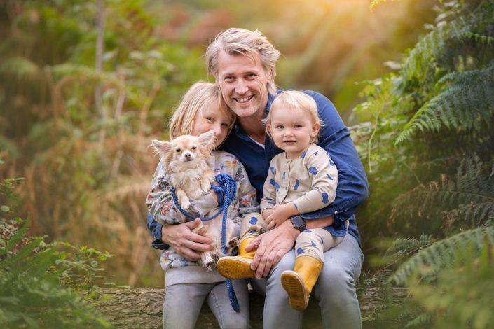 vader en zoons portret