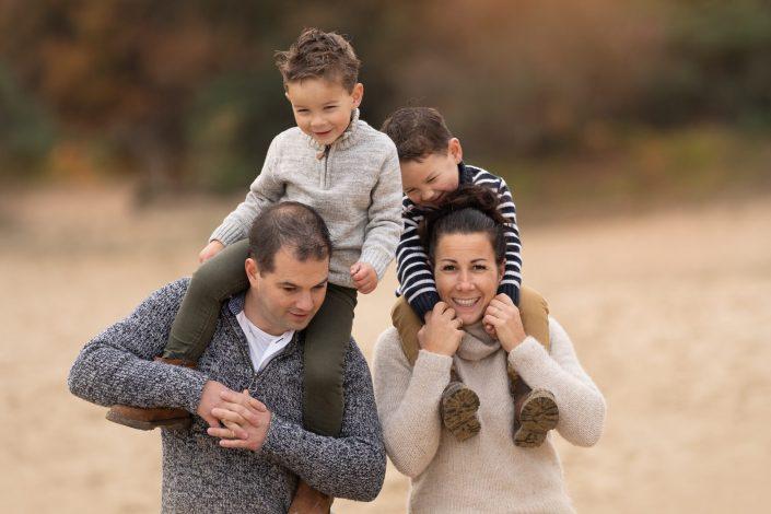 herfst fotoshoot fotograaf gezin Veluwe