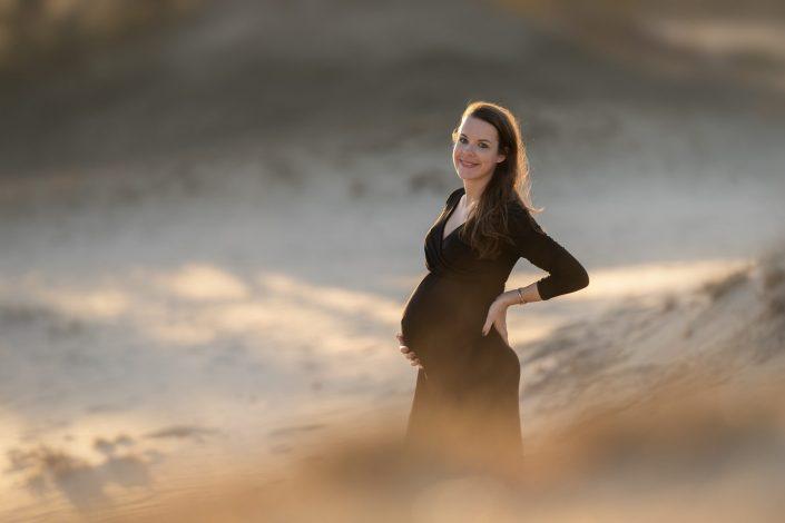 zwanger zwangerschapsfotoshoot Hulshorsterzand Nunspeet Lelystad
