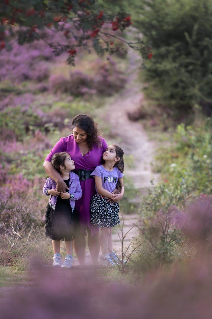 paarse heide portret