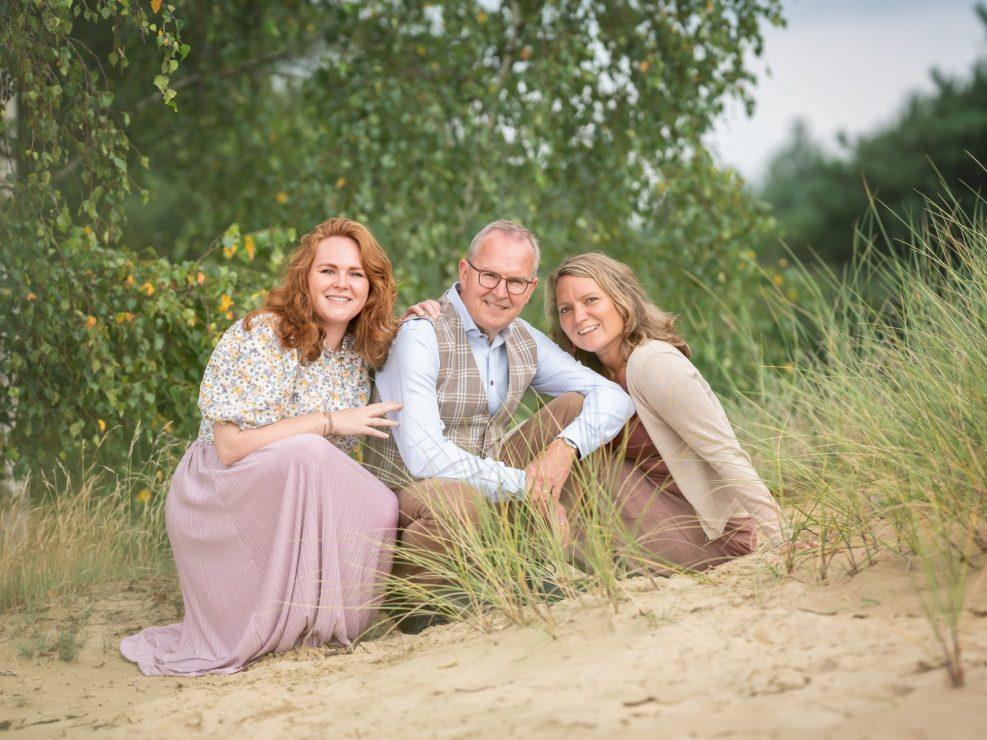 familie fotograaf veluwe familieportret buiten fotoshoot