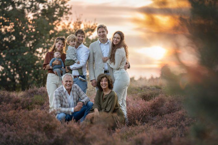 familie fotoshoot heide