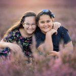 fotoshoot met zusjes